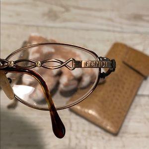 Fendi Copper Eyeglass Frames, Made in Italy - EUC